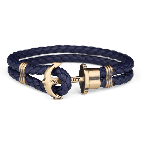 Anchor PHREP Brass Navy Blue__Paul Hewitt_Jewellery_THE UNIT STORE