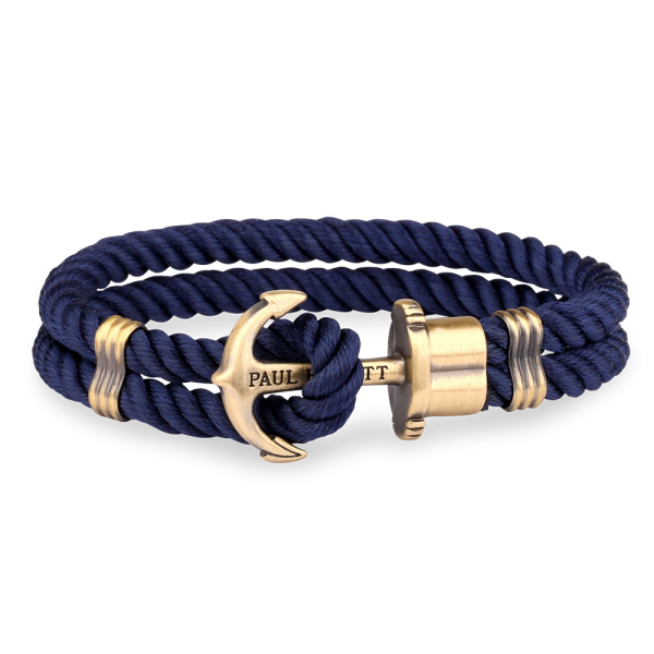 Anchor PHREP Brass Nylon Navy Blue__Paul Hewitt_Jewellery_THE UNIT STORE