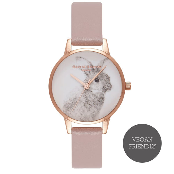 Woodland Vegan Rose Sand & Rose Gold__OLIVIA BURTON_Watch_THE UNIT STORE