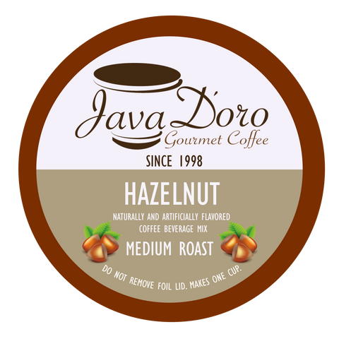 Hazelnut Flavored Coffee Pods - 18 Count