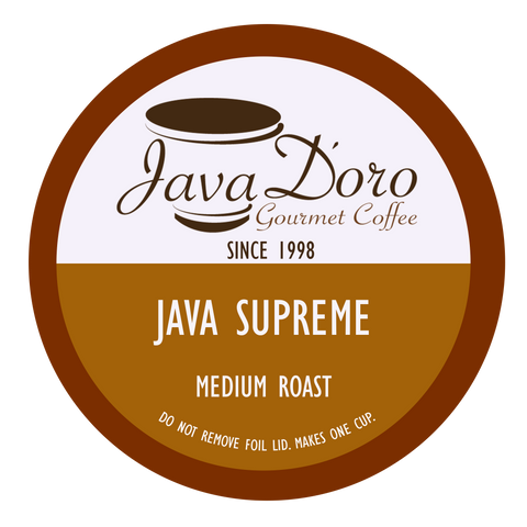 Java Supreme Java D'oro Coffee Pods - 18 Count