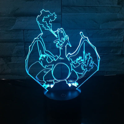 Pokemon 3D Table Lamp