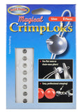 8 Pieces Silver Crimp Loks