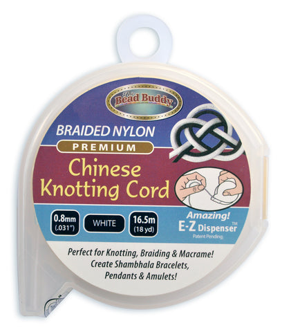 Chinese Knotting Cord .8mm White