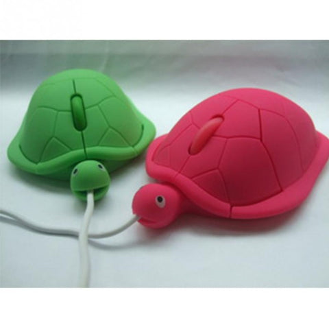 3D Wired Optical Cute Turtle Mice Mouse