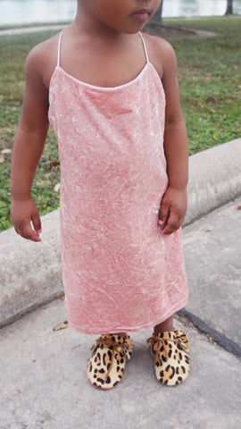 Baby Pink Dress - WiddleToes