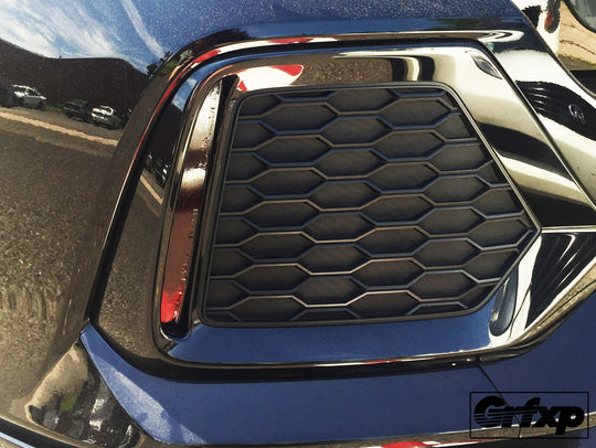 Rear Grill Reflector Overlays for 10thGen Honda Civic Hatchback (2017+)