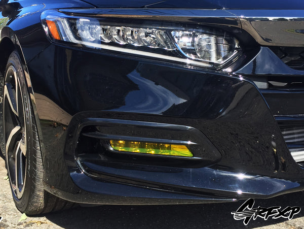 Fog Light Overlays for 10thGen Honda Accord Sedan (2018+)
