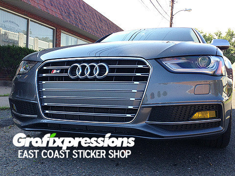 Fog Light Overlays for Audi B8.5 S4/A4 S-Line (2013 – 2016)