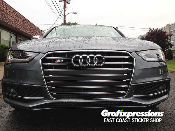 Grille Strip Overlay Kit for B8.5 Audi S4/S-Line (2013 - 2016)