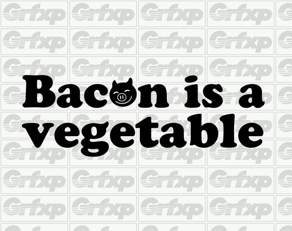 Bacon is a Vegetable Sticker