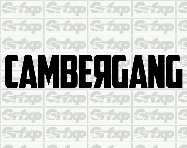 CAMBERGANG Sticker