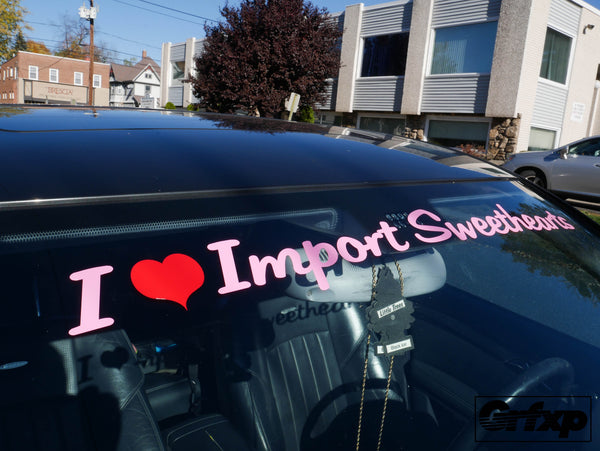 Import Sweethearts Crew Banner V2