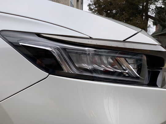 Headlight Reflector Overlays for 10thGen Honda Accord Sedan (2018+)