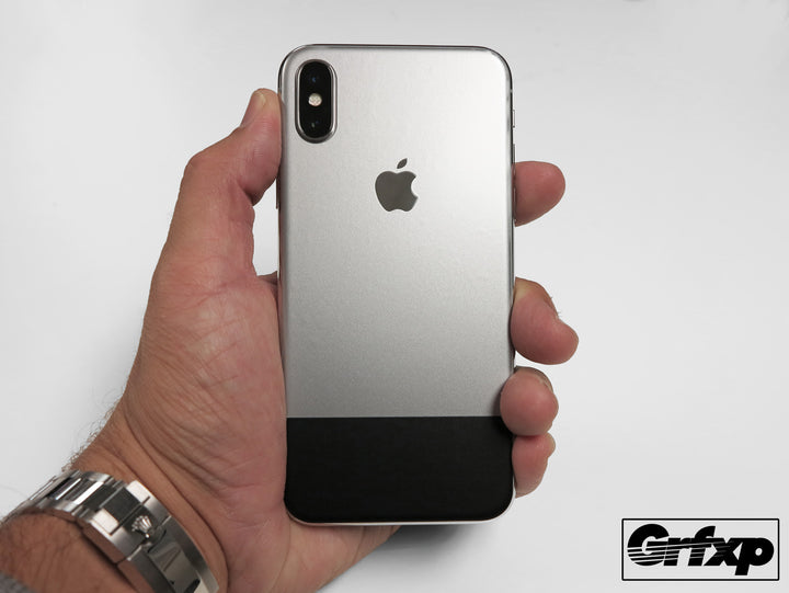 iPhone X 10th Anniversary Skin - Replicate the look of the original iPhone!  Don't fall for dbrand or SlickWraps imposter overlays, ours are the original!
