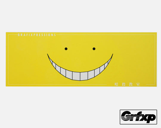Grafixpressions Japanese Smile Limited Edition Printed Sticker