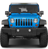 Billet Grille Insert For Jeep Wrangler JK (2007-2017) - JWM 4x4 Jeep Wrangler Products