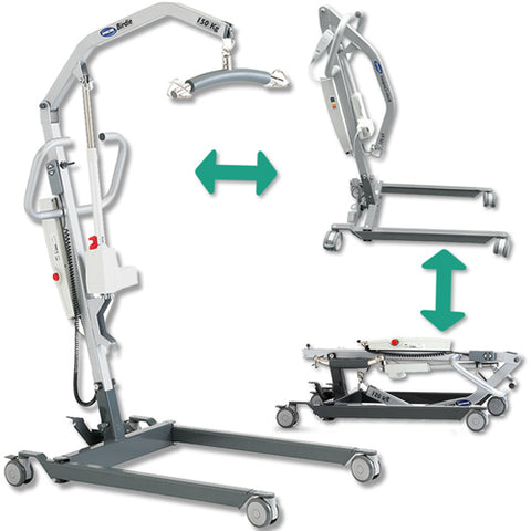 Hire Mobile Patient Hoists Lightweight Folding and Travel Type available