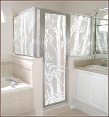 Big Bamboo Privacy Window Film