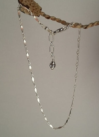 Dapped Anklet (Sterling Silver)