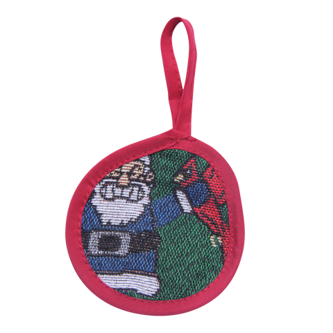 Green Naughty List Ornament - Barrel Down South