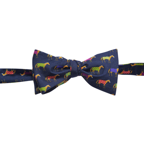 Multi Color Horse Bowtie - Barrel Down South