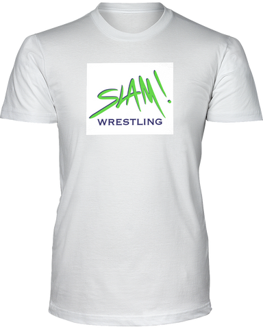 Slam! Wrestling Men's Basic Tee