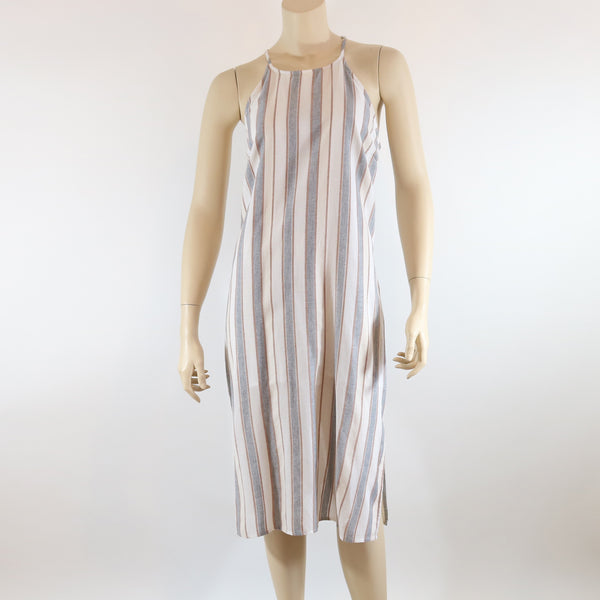 T-Back Striped Shift Dress