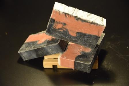 Pink Clay & Activated Charcoal Soap