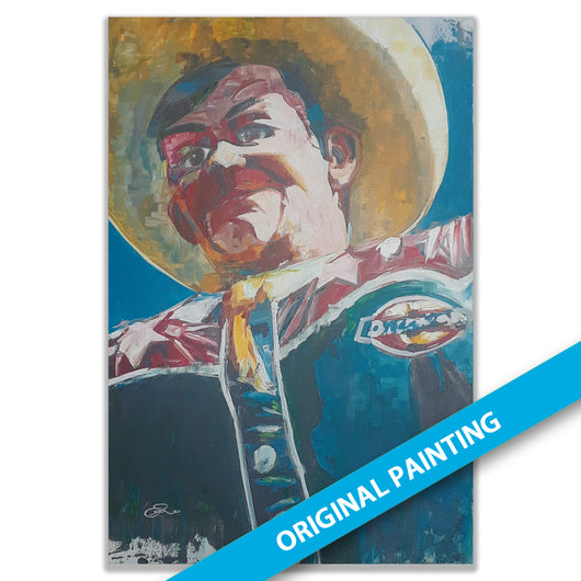 Big Tex 2018 — LARGE ORIGINAL PAINTING