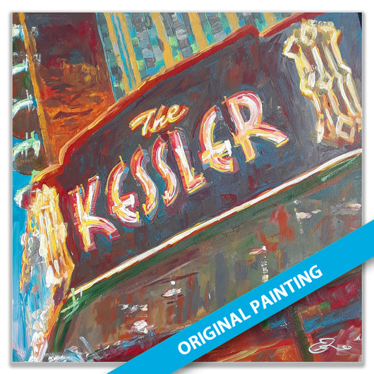 Kessler Theater — ORIGINAL PAINTING