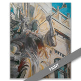 Bass Performance Hall Angel — PRINT