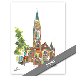 Cathedral Shrine of the Virgin of Guadalupe, Dallas — PRINT