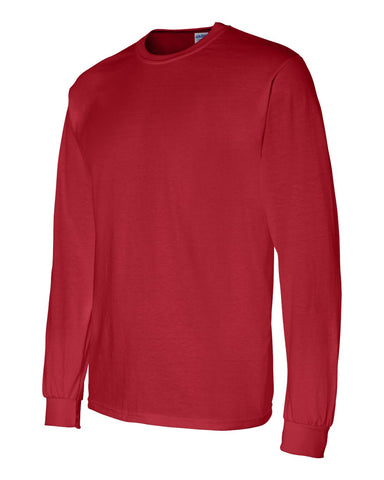 Gildan Long Sleeve - RED- NEMES-12431