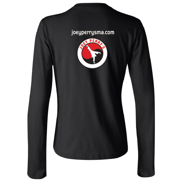 Women's Long Sleeve Jersey Tee - JMPAA - 8209