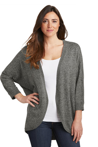 Port Authority Ladies Marled Cocoon Sweater - GREEQ