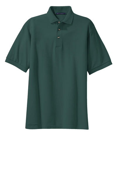 Port Authority Tall Heavyweight Cotton Pique Polo DARK COLORS - GREEQ