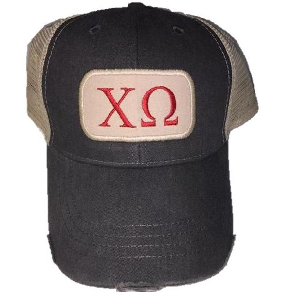 Chi Omega - Patch Hat