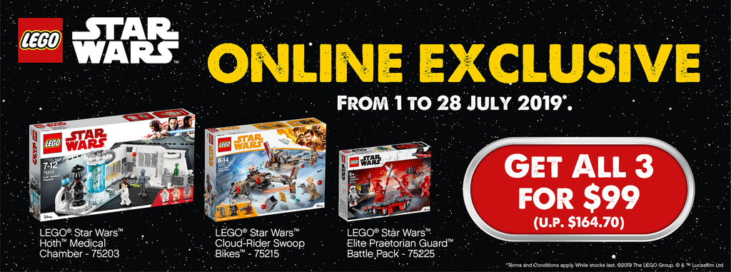 LEGO 752039 Star Wars Bundle Online Exclusive