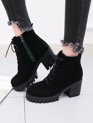 MIDNIGHT ANKLE BOOTS