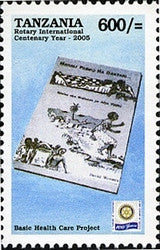 100th Anniversary of Rotary International - Basic Health Care Project - Philately Tanzania stamps