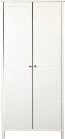 Stockholm 2 Door Wardrobe - White
