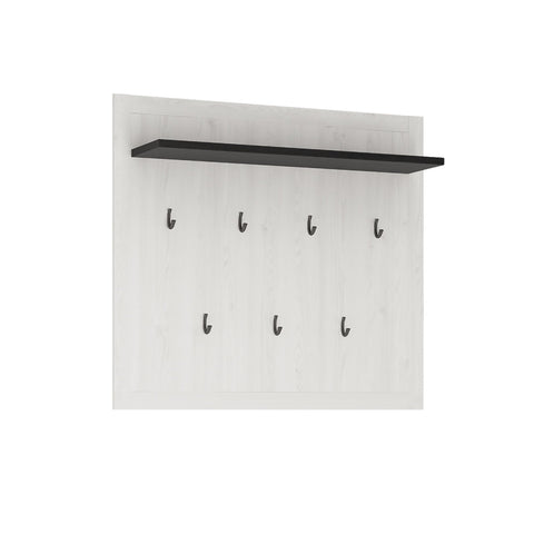Provence Wall panel with shelf and hooks