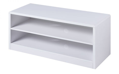 Manhattan High Gloss Compact TV Unit With Shelves