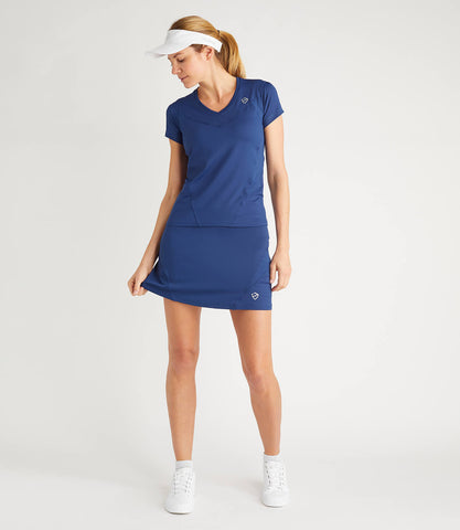 Monique Technical Skort Blue