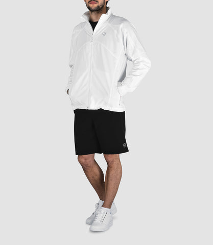 Chester Track Jacket White