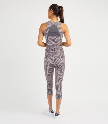 Veronica Performance Vest - Anthracite Pale Rose