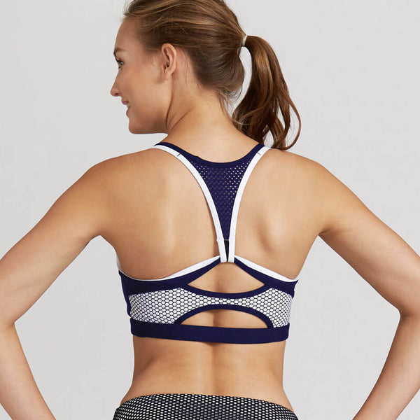 Backless Fitness Push Up Sporting Bra