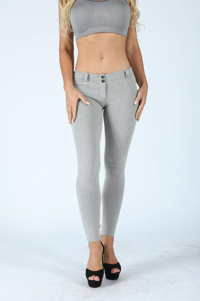 2019 Mid Waisted Gray Knitted With Hiney Trainer X™