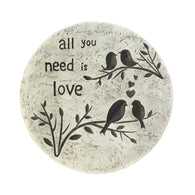 ALL YOU NEED IS LOVE STEPPING STONE - Distinctive Merchandise
